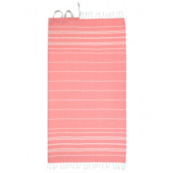 Protest Sleek Towel coral blaze