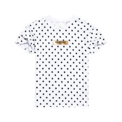 T-shirt Superdry Studio 395 Polka Dot femme optic