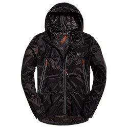 Veste Superdry Offshore Packable Cagoule black