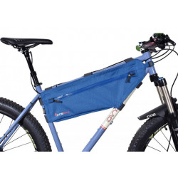 Acepac Sacoche de cadre Zip Frame Bag Bleu L