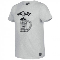 T-shirt Picture beer grey melange