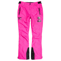 Pantalon Superdry SD Ski Run femme luminous pink