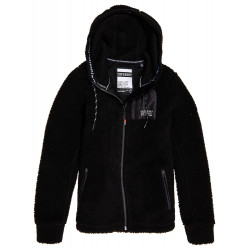 Polaire Superdry Storm Urban Zip femme black