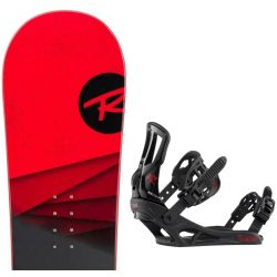 ROSSIGNOL DISTRICT BLACK/RED WIDE + BATTLE Black red