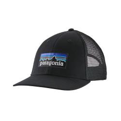Patagonia p6 logo lopro trucker hat black