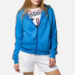 Rossignol Flag Sweat JKT Femme royal blue