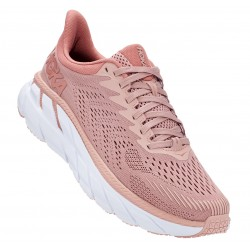 Hoka Clifton 7 Femme misty rose / cameo brown