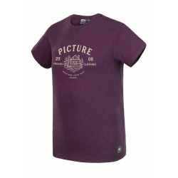 Picture brady Tee burgundy
