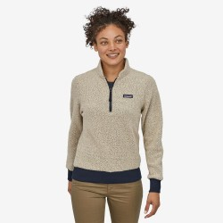 Patagonia Woolyester Fleece Pullover W Oatmeal Heather