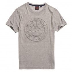 T-shirt Superdry Everest Peppered Grey Grit
