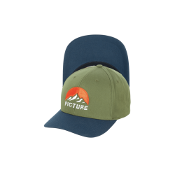 Picture meadow baseball cap army green