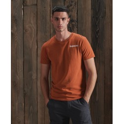 T-shirt Superdry CL High Peaks Sierra Orange Marl