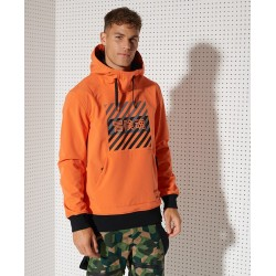 Veste Superdry Snow Tech Hood Havana Orange